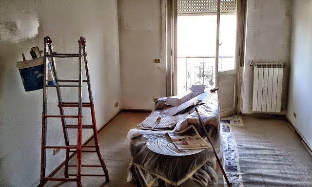 Consigli per non sporcare per imbiancare casa