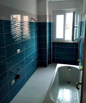 Il bagno alla fine dei lavori